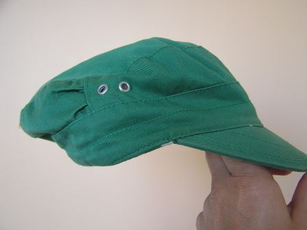 "Casquette ""DIVIDED"" verte, taille S/54"