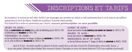 permanences inscriptions