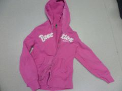 gilet-sweat rose Benetton L